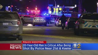 Man Shot By Police In North Lawndale
