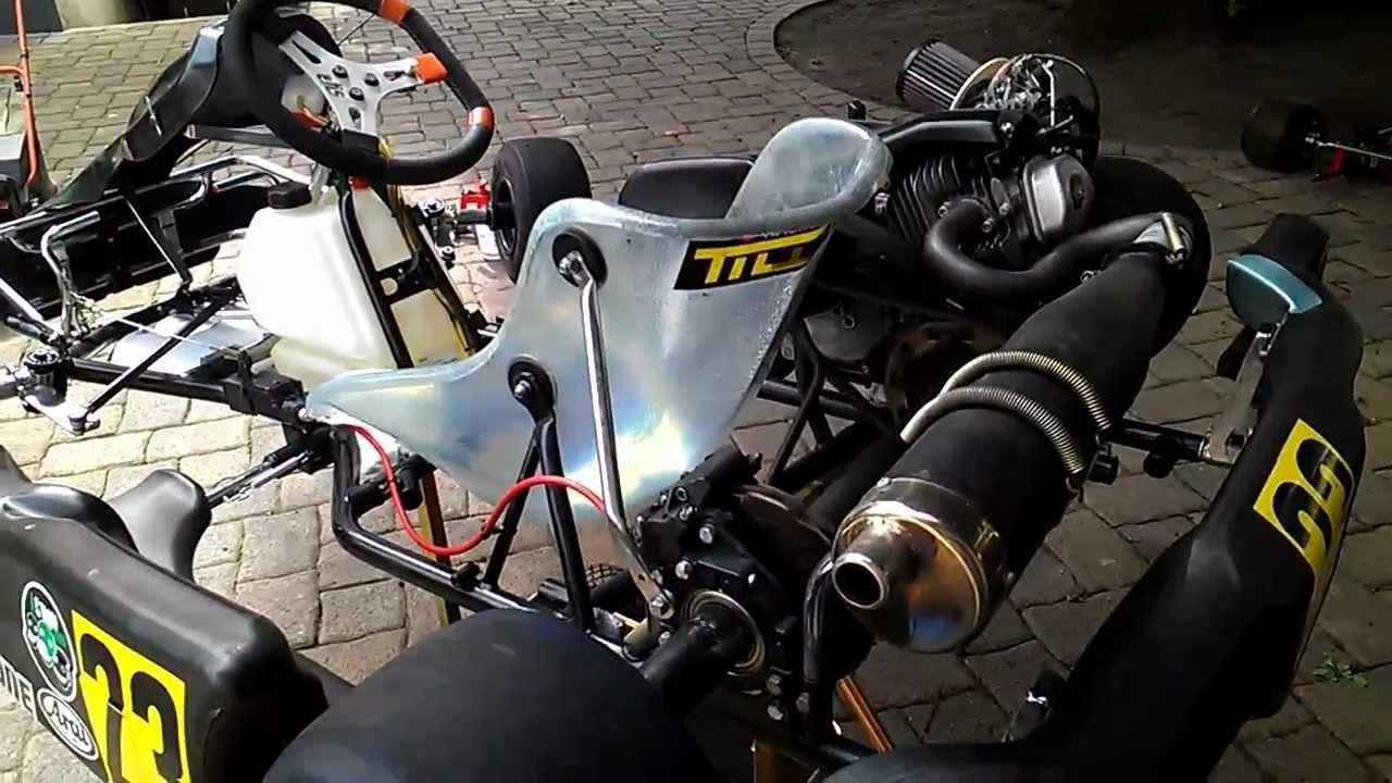 Honda Gx 390 Kart - YouTube