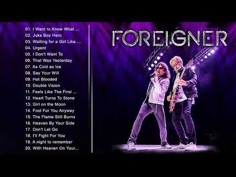 Foreigner Greatest Hits