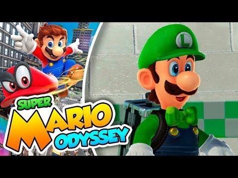 ¡Ya está aquí el Buscaglobos! - #49 - Super Mario Odyssey en Español (Switch) DSimphony
