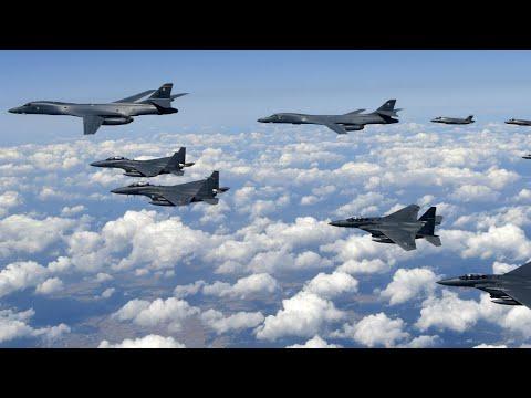 "North Korea Crisis: Washington, Seoul launch ""biggest-ever combined airforce exercise"""