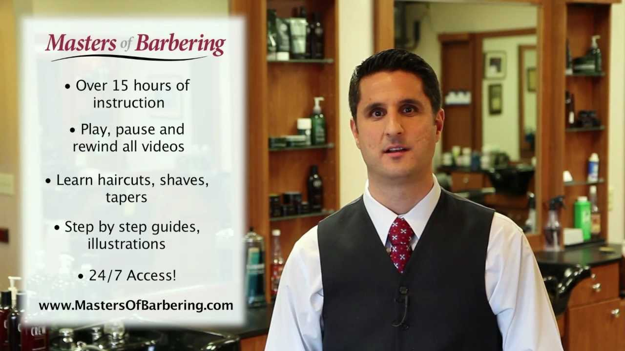 Learn How To Cut Mens Hair With The Online Barber School From