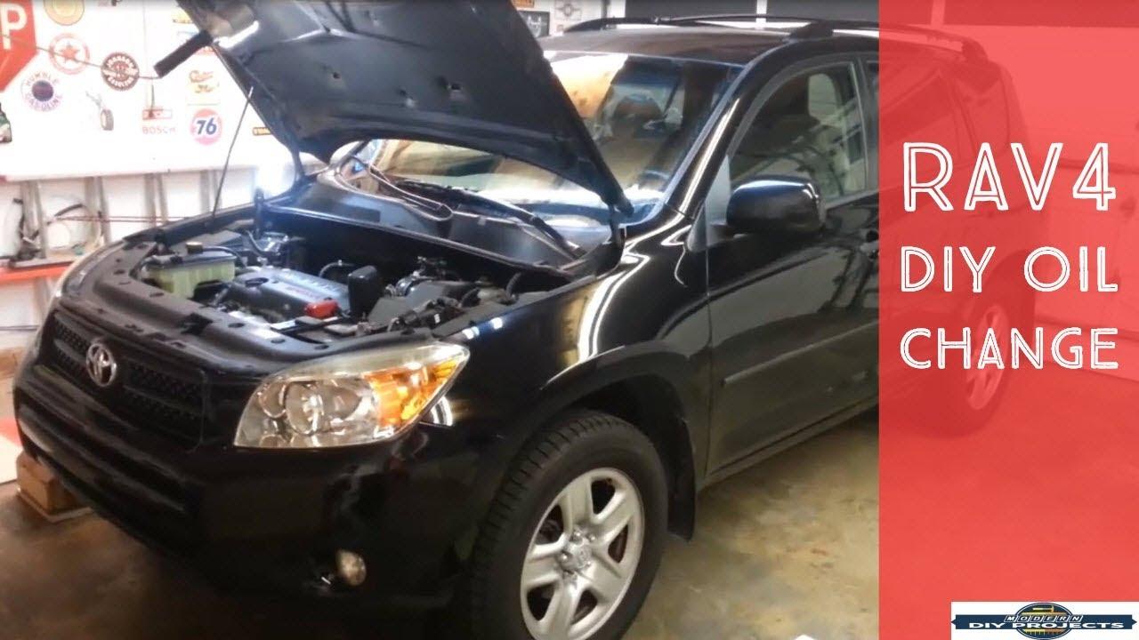 Toyota Rav4 Oil Capacity And Oil Change Intervals Engineworks