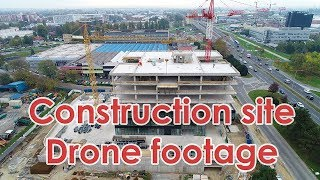 Matrix Office Park -  Construction site - Aerial footage