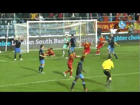 Montenegro - England 2:2, all goals and highlights [7. 10. 2011] Crna Gora - Engleska 2:2