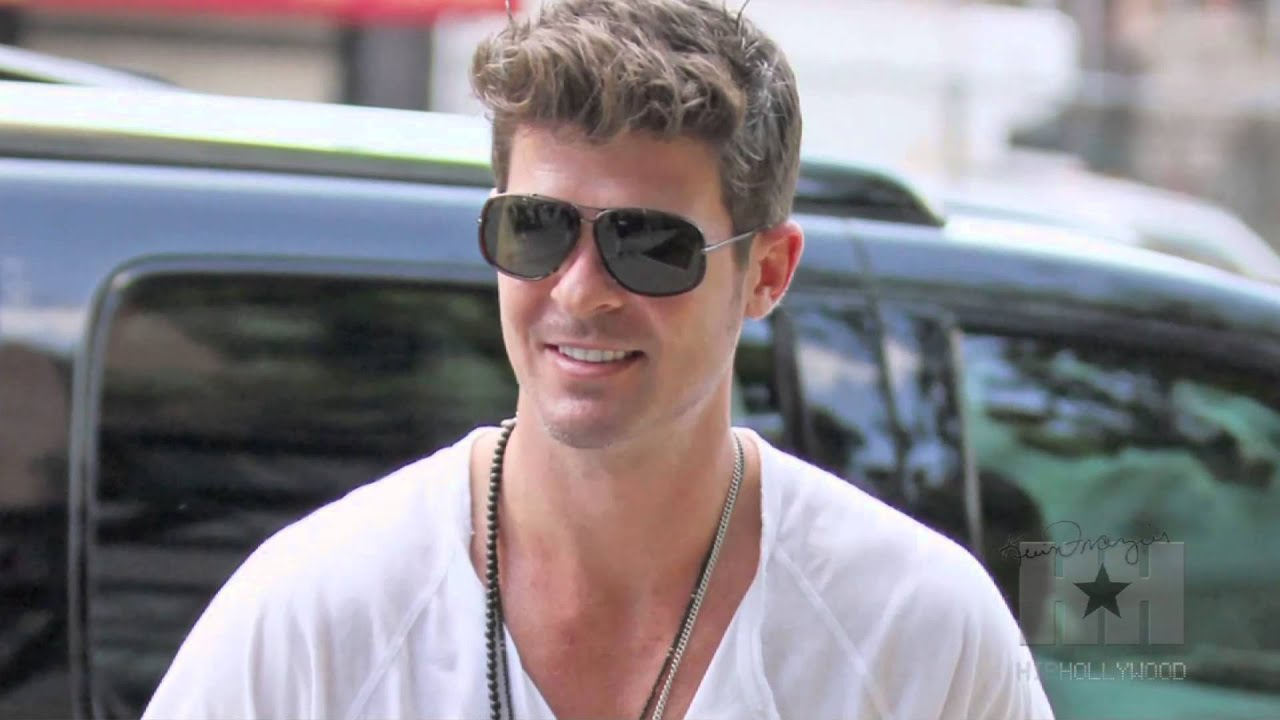 Robin thicke big dick — photo 6