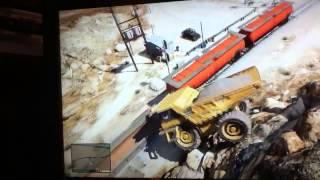 Dump truck flip. Funny !!!!
