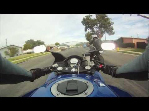 Motorcycle Ride Time Lapse in San Diego: La Mesa - Santa Ysabel
