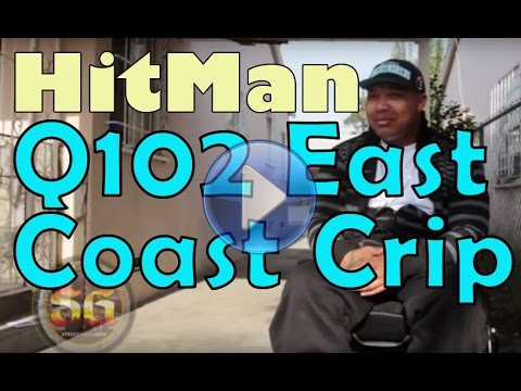 Hitman from Q102 East Coast Crips talks about getting shot during genesis of Grape Street beef