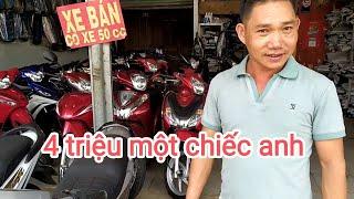 Thanh lý lô xe máy cũ siêu rẻ giá từ 4 triệu xả hàng thu hồi vốn 0915365468.
