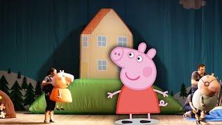 Представление Свинки Пеппы Peppa Pig show 4k video