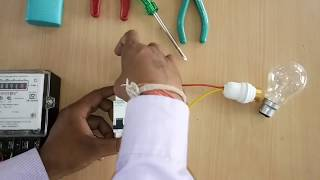 ELECTRICITY METER METER WIRING CONNECTION बिजली मीटर का कनेक्सन meter connection