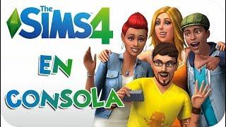 PROBANDO LOS SIMS 4 EN CONSOLA!! - Sims Camp 2017
