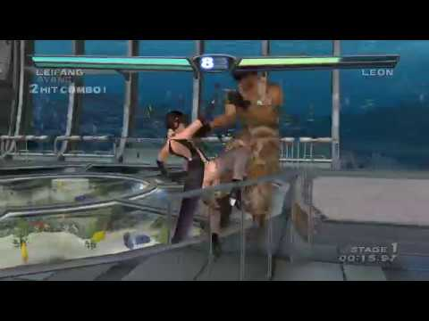 [ DEAD OR ALIVE 3 ] Tag Time Attack with Leifang (Cos.4) and Ayane (Cos.1)