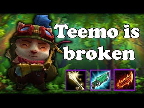 LoL BG - Teemo е счупен