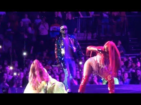 Nicki Minaj, Stylo G, Ms Banks, Lisa Mercedez - Yu Zimme Remix Live @ The O2 Arena, London