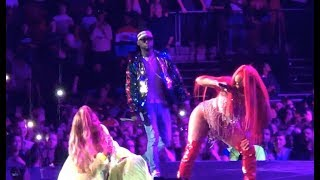 Nicki Minaj, Stylo G, Ms Banks, Lisa Mercedez - Yu Zimme Remix Live The O2 Arena, London