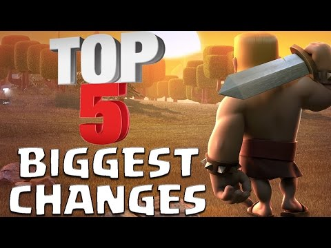 Top 5 Biggest Changes In Clash of Clans History