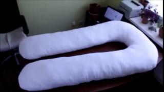 подушка для беременных maxi хеппи u(http://www.happysleep.com.ua/ru/catalog_Podushki/view/3880/podyshka_dlaj_beremennux_maxi_happyu/ Полное описание и цену подушки смотрите на ..., 2015-06-05T13:49:33.000Z)
