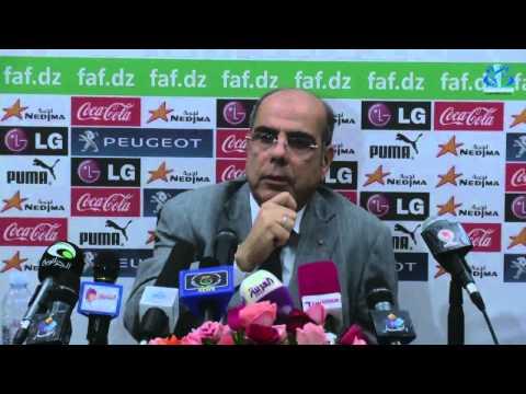 Conférence de presse : Raouraoua annonce sa candidature pour la présidence de la FAF
