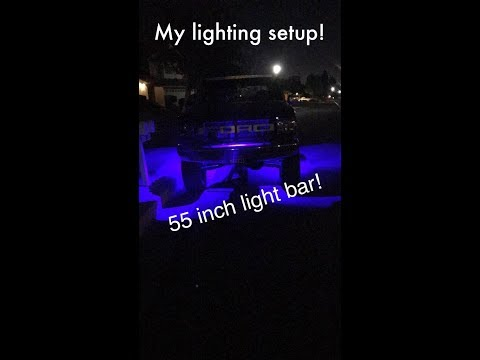What the lights do on my Ford bronco pre runner