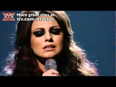 Cher Lloyd sings Stay - The X Factor Live show 4