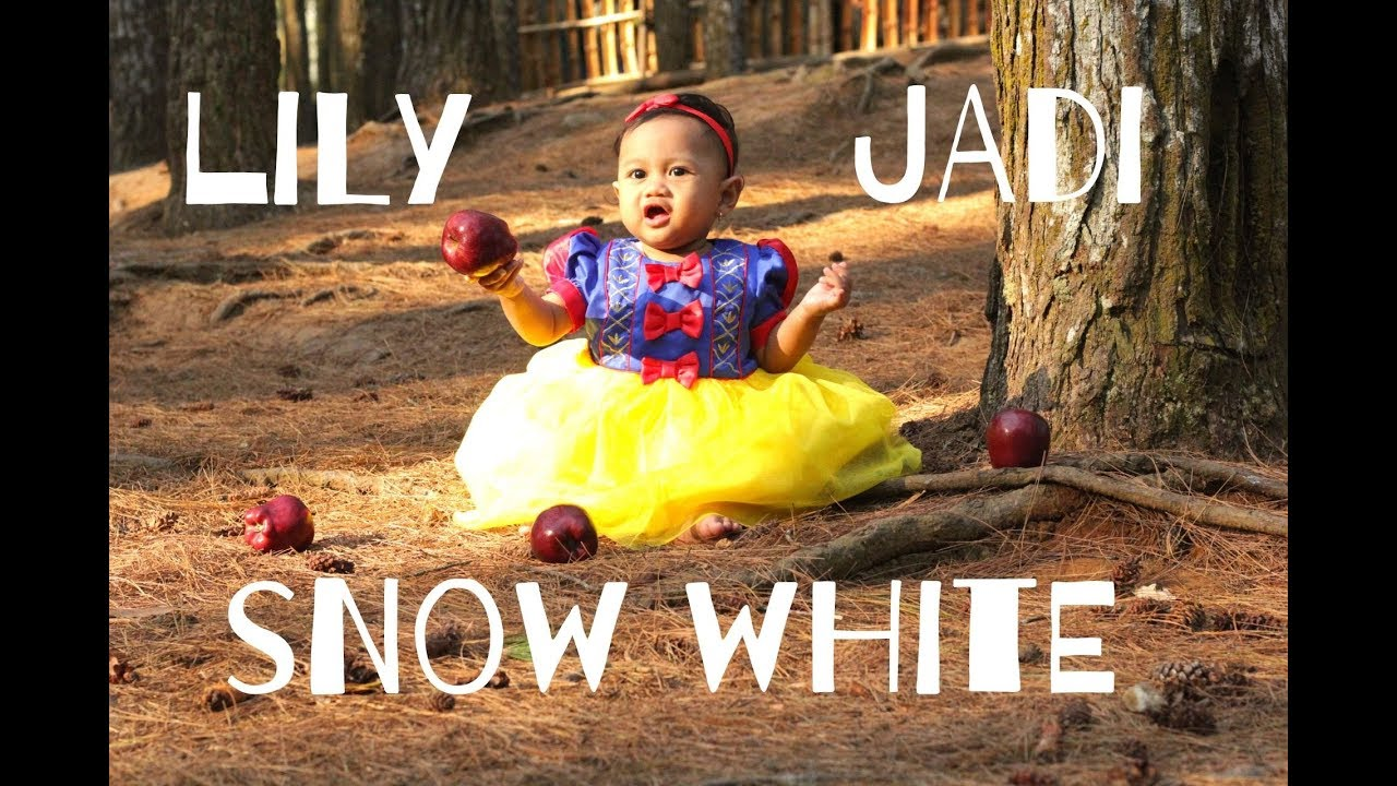 Disney S Snow White Photoshoot Tutorial Lily Difoto Jadi Snow