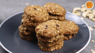 Easy Vegan Oatmeal Cookie Recipe | No White Flour & No Refined Sugar | Mortar and Pastry