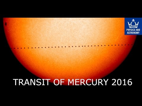Transit of Mercury 2016 Live from London | QMUL Observatory
