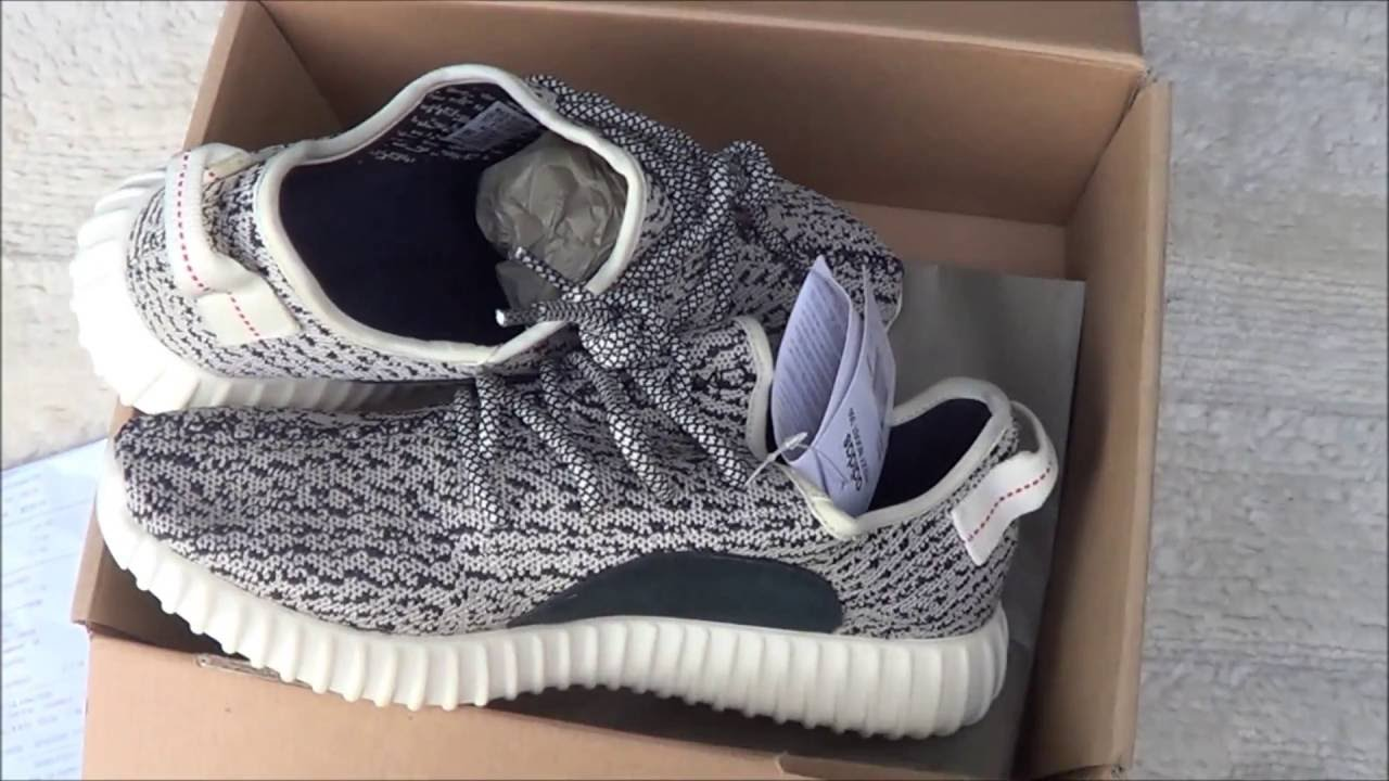 d846db88fb3 Adidas Yeezy Boost 350 Turtledove Unboxing and Review - YouTube