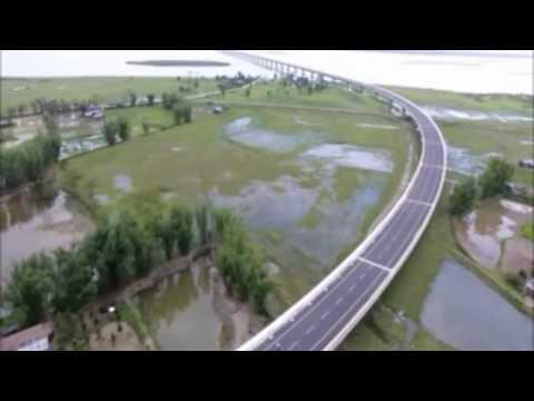 DHOLA SADIYA BRIDGE ( 9.15 KM) OVER RIVER BRAHMAPUTRA; ASSAM: INDIA'S LONGEST BRIDGE ;