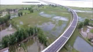 DHOLA SADIYA BRIDGE ( 9.15 KM) OVER RIVER BRAHMAPUTRA; ASSAM: INDIA