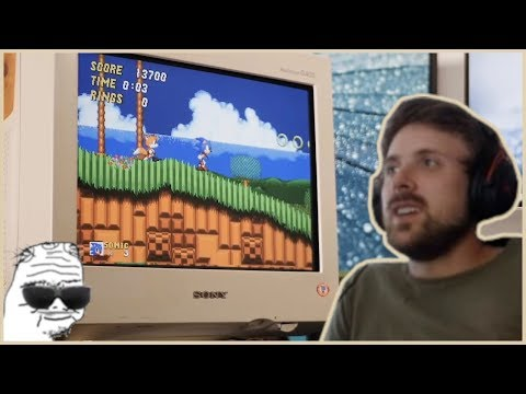 Forsen Reacts To Modern Games Look Amazing On CRT Monitors... Yes, Better than LCD!