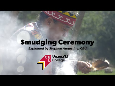 Smudging Ceremony Explained By Stephen Augustine