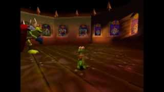 Croc Legend of the Gobbos [PSX] 100% - Level 4-B2 Baron Dante