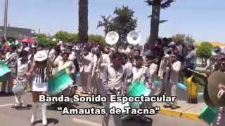 Banda Sonido Espectacular Amautas 2015 (8va.San Miguel Arcangel)