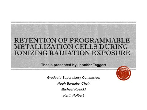 Master's Thesis Defense - Retention of PMC During Ionizing Radiation Exposure