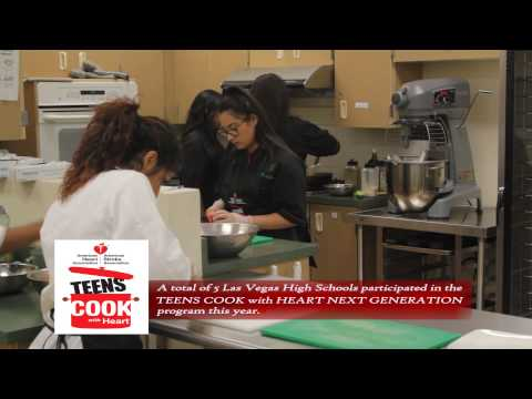 Teens Cook with Heart