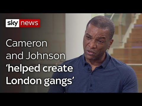 Cameron and Johnson's 'War On Gangs' to blame for violence
