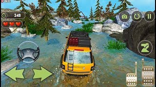 Mega Ramp Jeep Stunts - Offroad Beach Racer - 4x4 Stunts Car Game - Android GamePlay