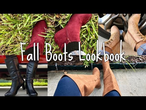 EVERYDAY FALL BOOTS LOOKBOOK