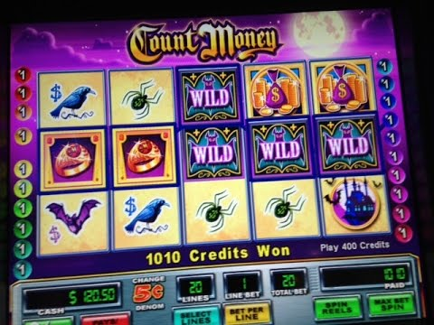 Mystery Wilds Feature And 6 Bonuses 5c Count Money Slot Wms Youtube