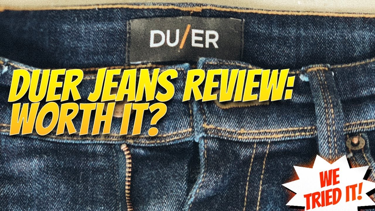 ab4c8852ff8 Duer Review - Our honest, 6-month Duer Jean Review - YouTube