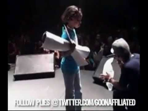 Plies Pays A Young Girl $1,000 To Leave His Show! (She Look Like She About 12yrs Old)