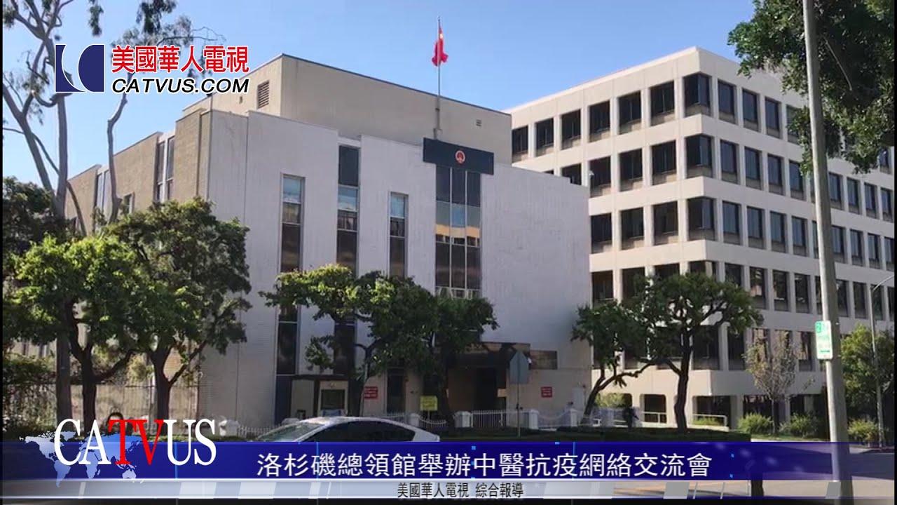 洛杉磯總領館舉辦中醫抗疫網絡交流會 美國華人電視 - YouTube