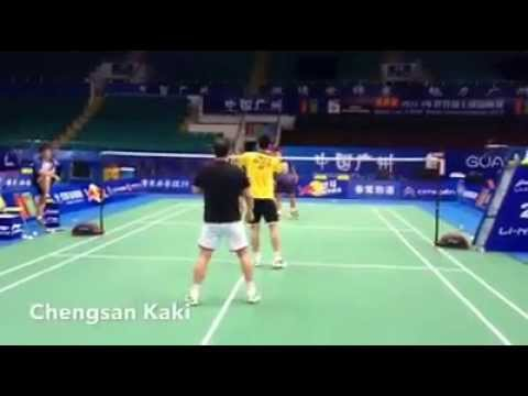Tan Boon Heong & Koo Kien Kiat friendly match
