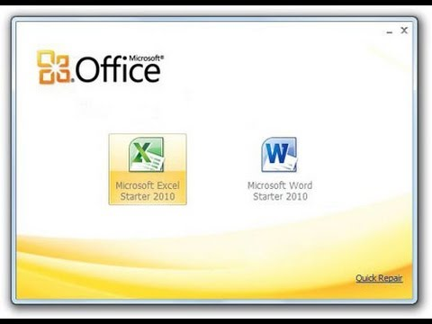 download microsoft word starter 2010 free full version