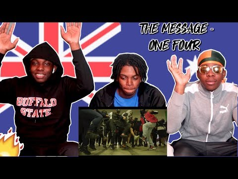 The Message - ONEFOUR - Americans/Africans Reaction