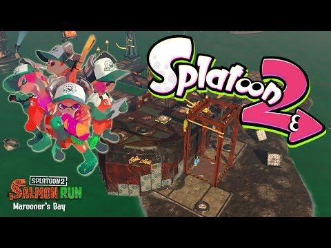 Splatoon 2 - Salmon Run - W/Yogscast Martyn
