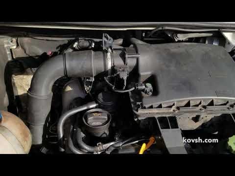 Стук гидрокомпенсаторов на холодный и прогретый мотор Volkswagen Crafter 2.5TDI, BJL